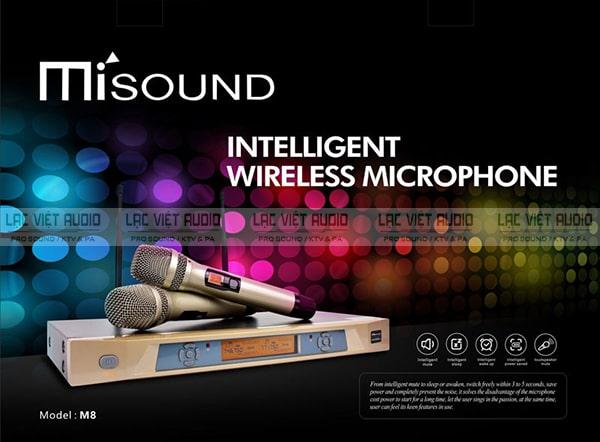 Micro Misound M8 có thiết kế hiện đại sang trọng