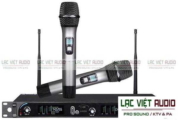 Micro không dây OBT cho chất lượng âm thanh đáp ứng nhu cầu nghe nhạc và hát karaoke của mọi người