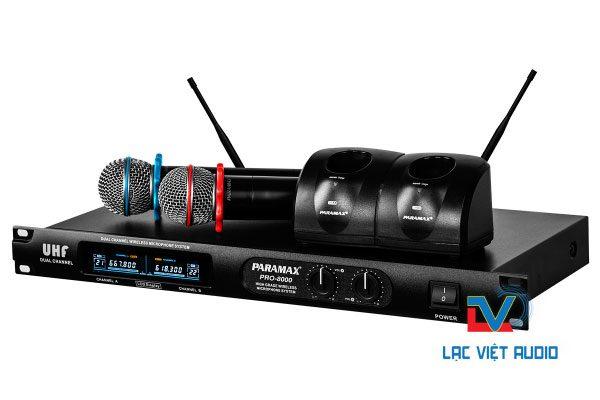 Micro không dây Paramax Pro-8000 có pin sạc chất lượng