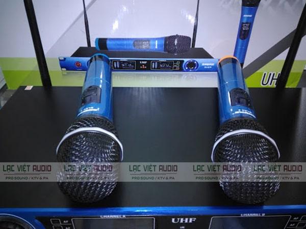 Thiết kế chi tiết tay Đầu thu micro không dây Shure BLXC9