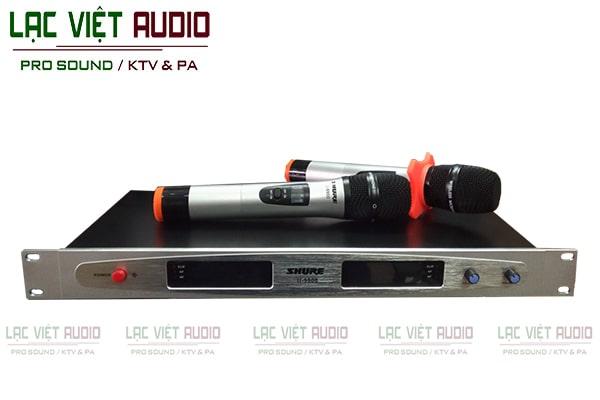 Micro không dây SHURE U9900 được đánh giá cao về thiết kế và chất lượng sản phẩm