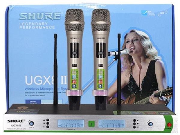 Micro shure UGX 8II