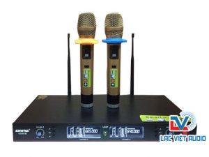 Micro không dây shure UGX9III được thiết kế sang trọng đẹp mắt
