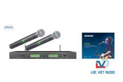 Micro không dây Shure UR4D cao cấp chất lượng