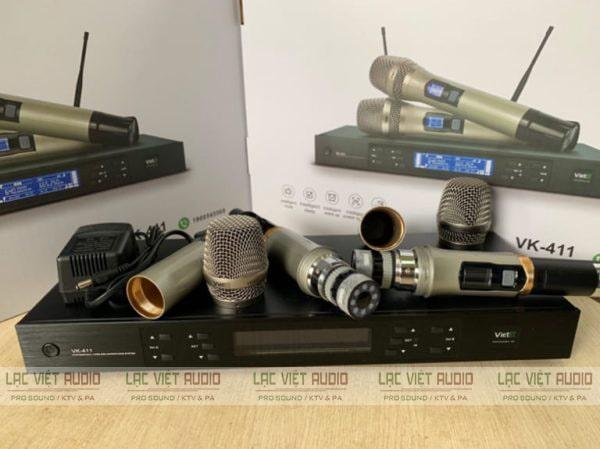 Micro có độ nhạy cao, khả năng lọc âm và bắt âm tốt