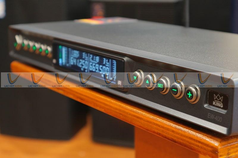 Micro King EW-400 có dải tần số rộng