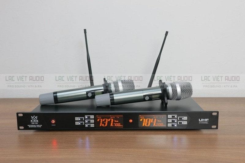 Dòng micro không dây chính hãng từ thương hiệu King Audio nổi tiếng của Anh Quốc