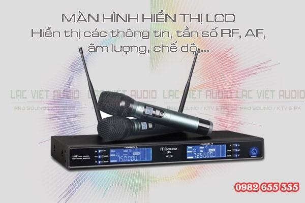 Mua micro Misound M6 chính hãng giá rẻ tại Lạc Việt Audio