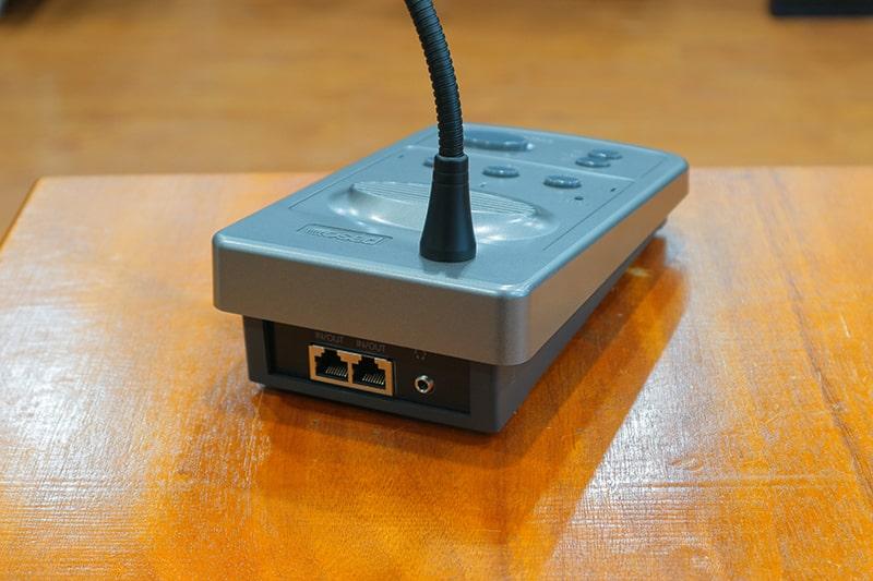 Micro Paso B2100-PG có hệ thống ổ cắm
