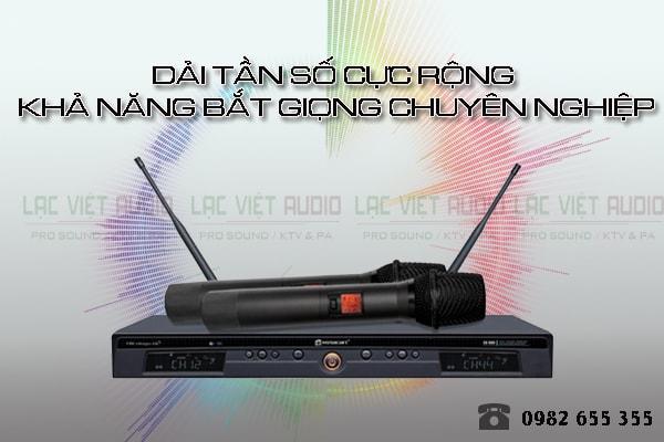 Micro Relacart EU 900 có chất lượng âm thanh cực hay