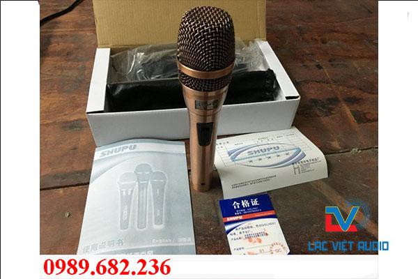 Micro Shupu 8.2 hát karaoke chất lượng
