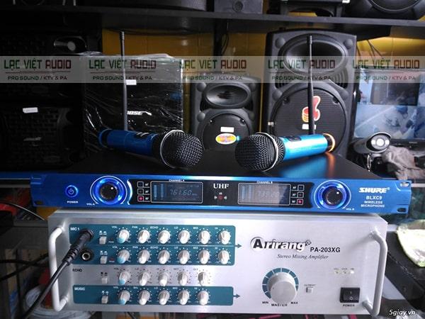 Micro Shure BLXC9 cho khả năng tái tạo âm thanh vô cùng vượt trội