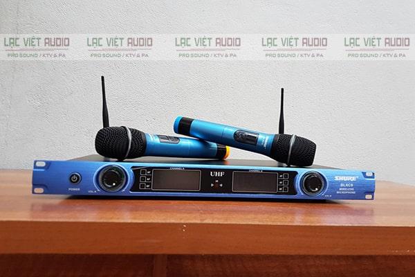 Đầu thu micro không dây Shure BLXC9 có thiết kế nhỏ gọn và chất liệu bền chắc