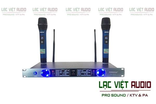 Micro Shure BLXC9 được đánh giá cao về thiết kế cũng như chất lượng âm thanh