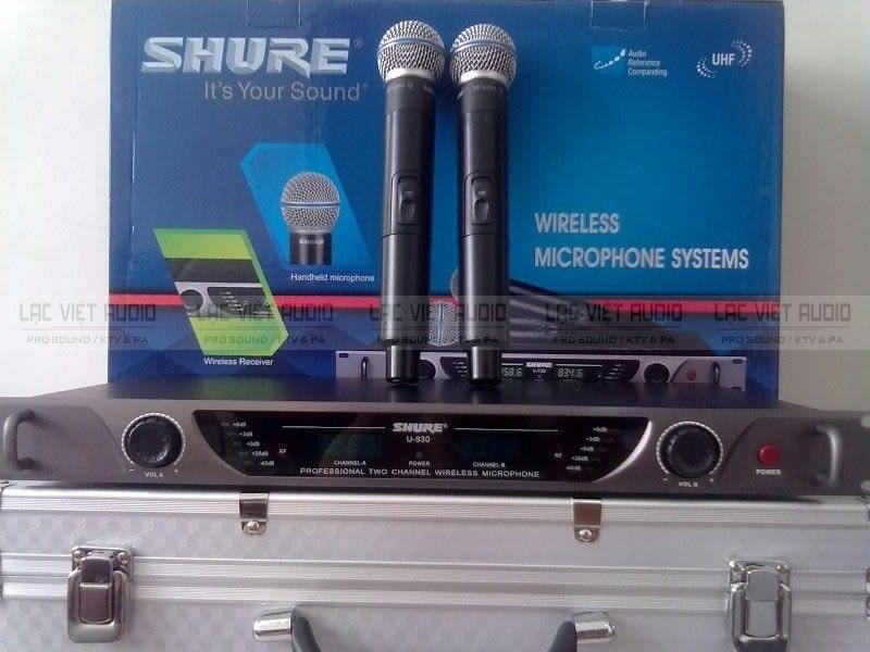 Micro không dây SHURE U930 hàng chính hãng được nhiều người dùng đánh giá cao