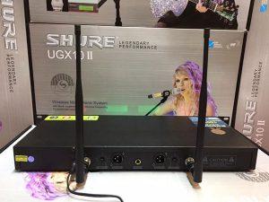Micro không dây Shure UGX10 II thế hệ cao cấp