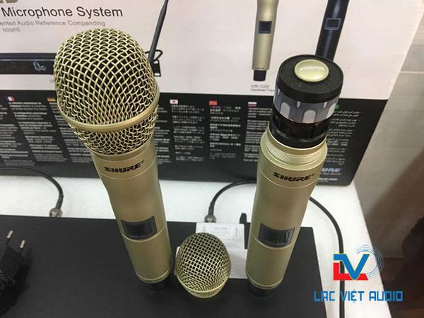 Củ mic Shure UR12D thiết kế khá tinh tế