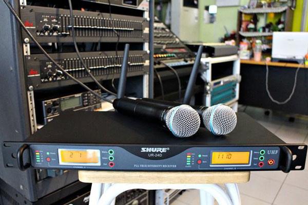 Micro không dây Shure UR24D giá tốt nhất thị trường
