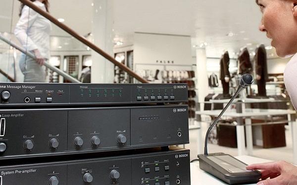 Các thiết bị đầu vào hệ thống âm thanh công cộng