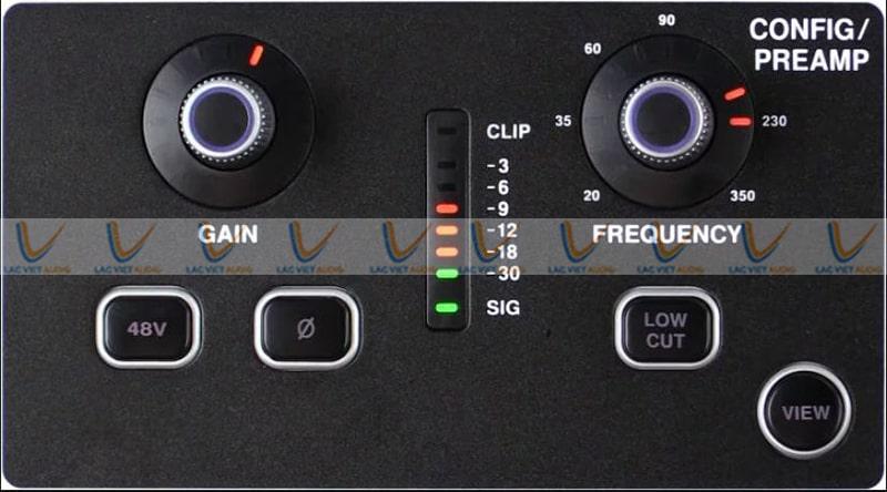 Midas digital M32 live có điều chỉnh gain