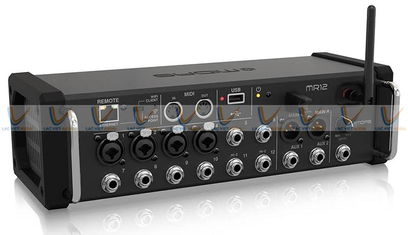 Midas MR 12 Mixer có 12 kênh đầu vào