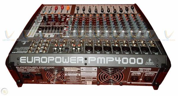 Behringer Powered mixer PMP4000 trang bị nhiều tính năng nổi  bật