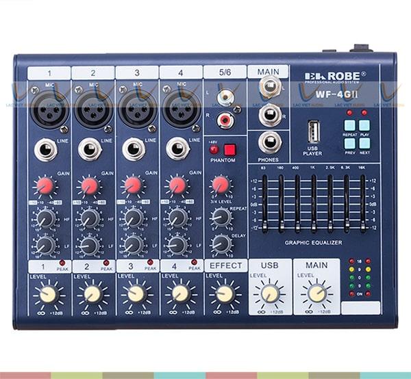 Mua mixer EA ROBE WF-6G hàng chính hãng bảo hành 2 năm tại Lạc Việt Audio