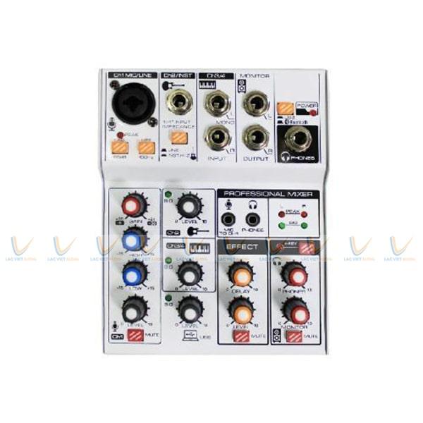 Mixer mini Oris KT-UPC cho dàn âm thanh chuyên nghiệp