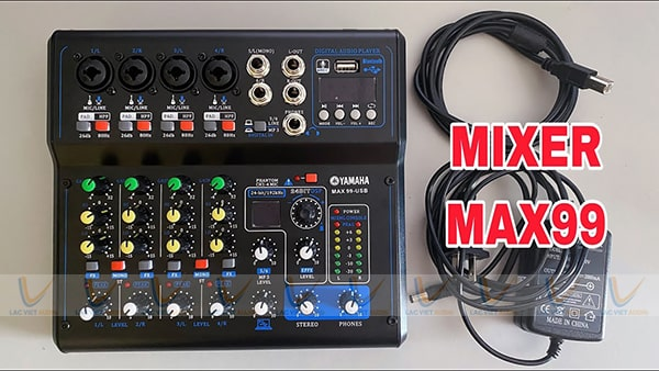 Thông số kỹ thuật mixer Yamaha Max 99