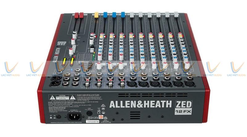 Allen & Heath ZED-12FX 12-channel mixer có nhiều tính năng nổi bật