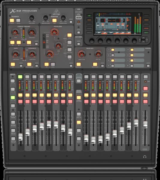 Thiết kế bên ngoài của Mixer Behringer X32 Producer