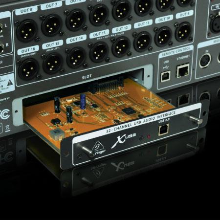 Linh kiện bên trong của Mixer Behringer X32 Producer
