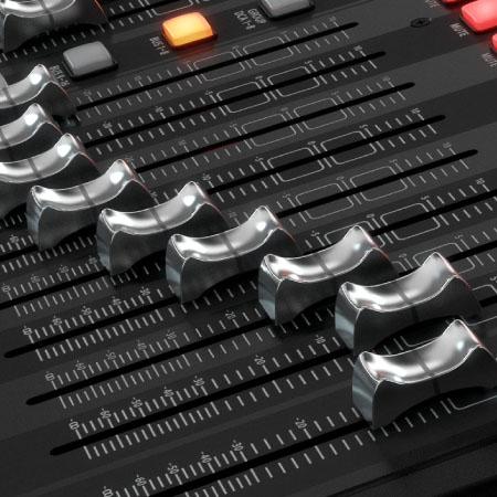 Hệ thống nút điều chỉnh của Mixer Behringer X32 Producer