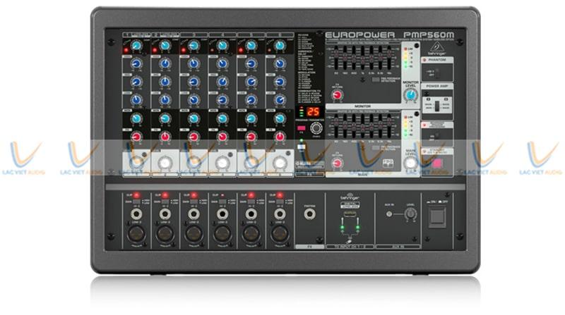 Mixer Behringer PMP 560M có nhiều tính năng nổi bật