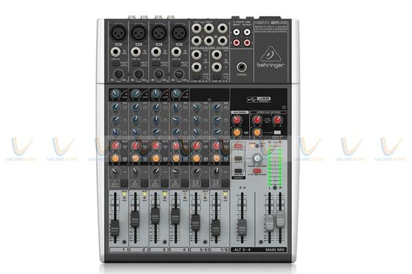 Mixer Behringer Xenyx 1204USB thuộc thương hiệu mixer Behringer nổi tiếng và cao cấp nhất của Đức