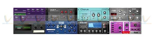 Mixer Digital Allen & Heath SQ7 được trang bị RackExtra FX