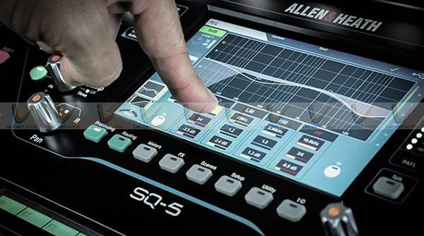 Bảng điều khiển cảm ứng điện có độ phân giải lớn