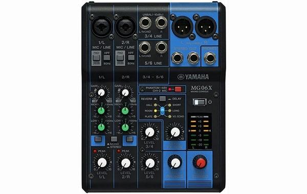 Mixer gia đình Yamaha MG06X