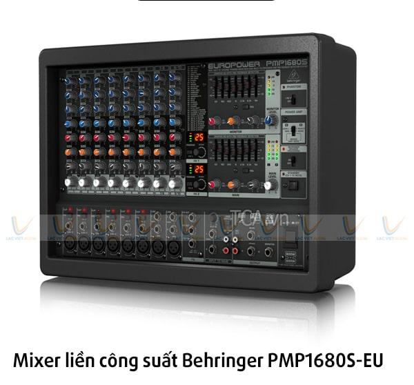 Mixer liền công suất cũ giá rẻ Behringer PMP1680S-EU: 8.500.000 VNĐ
