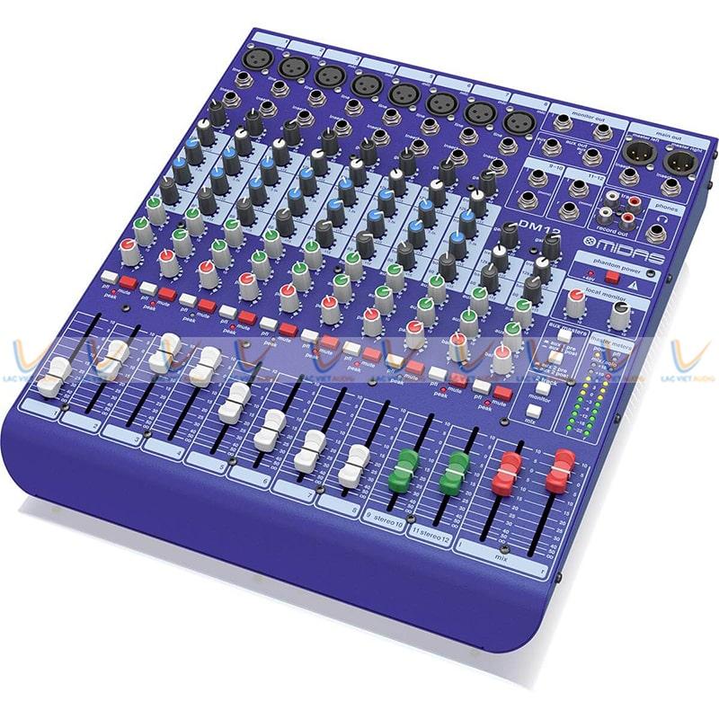 Mixer Midas DM12 có nhiều tính năng nổi bật