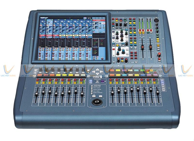 Mixer Midas Pro1-IP trang bị một màn hình LCD