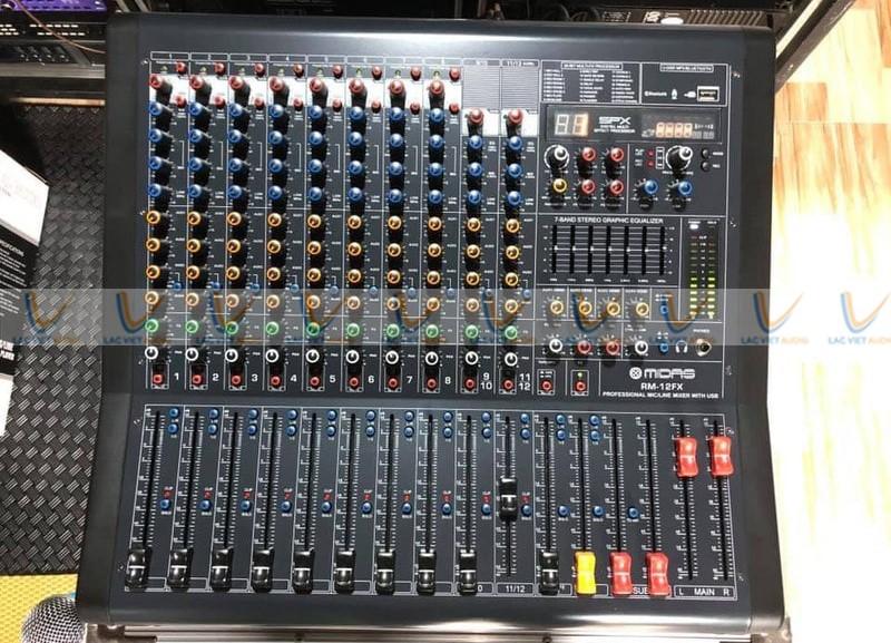 Mixer Midas RM – 12FX