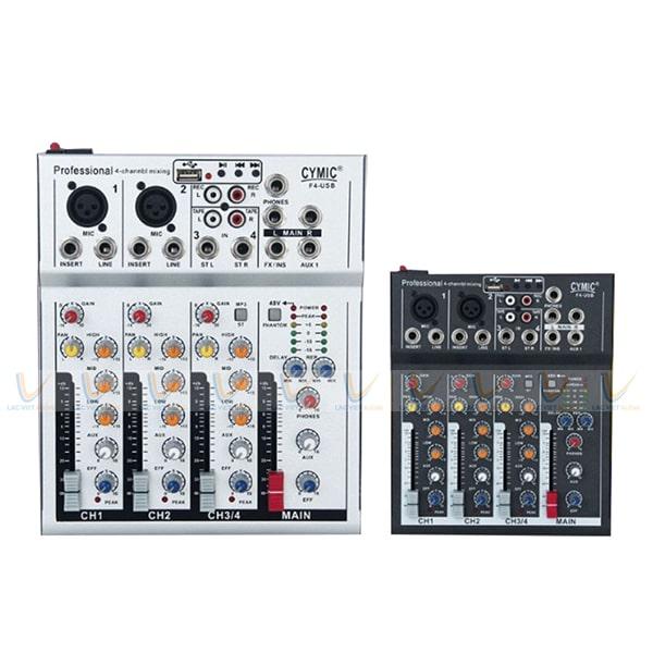 Bàn mixer được sử dụng phổ biến cho các bộ dàn âm thanh chuyên nghiệp