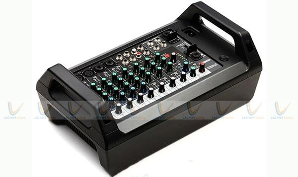 Bàn mixer mini karaoke có thiết kế gọn nhẹ