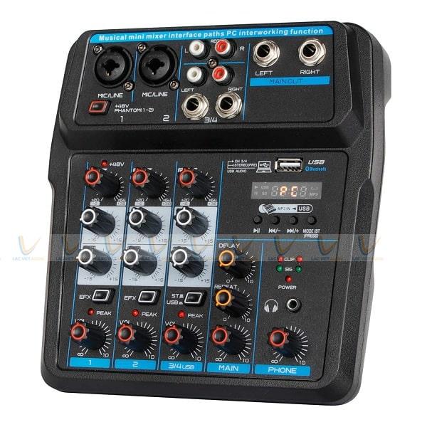Mixer mini có vai trò quan trọng trong việc hiệu chỉnh chất lượng âm thanh