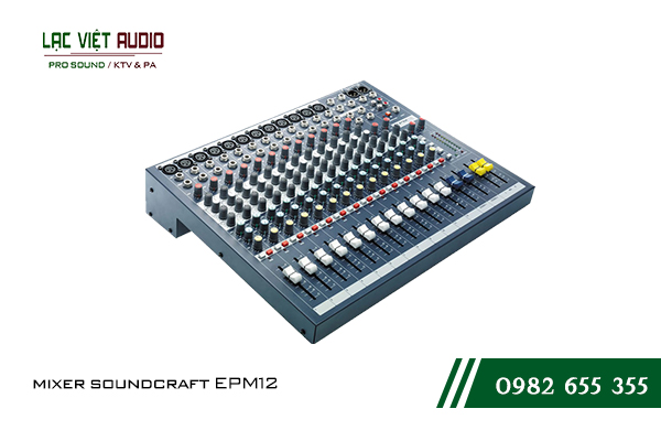 Giới thiệu sản phẩm mixer Soundcraft EPM12