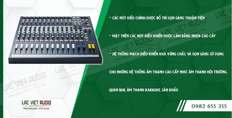 Mixer Soundcraft EPM12 - bàn trộn âm thanh chuyên nghiệp