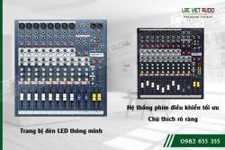 Tính năng và đặc điểm của mixer Soundcaft EPM8