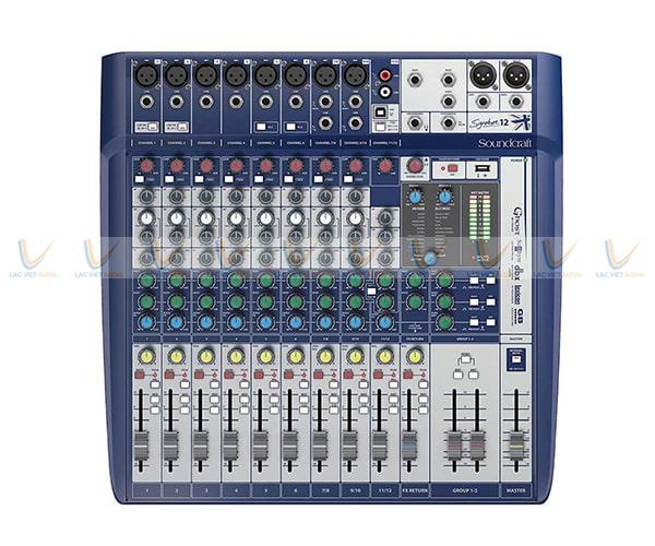 Thông số kỹ thuật mixer Soundcraft Signature 12