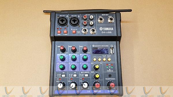 ThMixer Yamaha có nhiều tính năng quan trọng